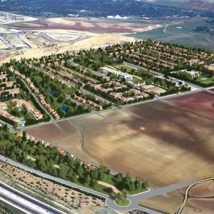 Infografia vista aerea Gillena 2005